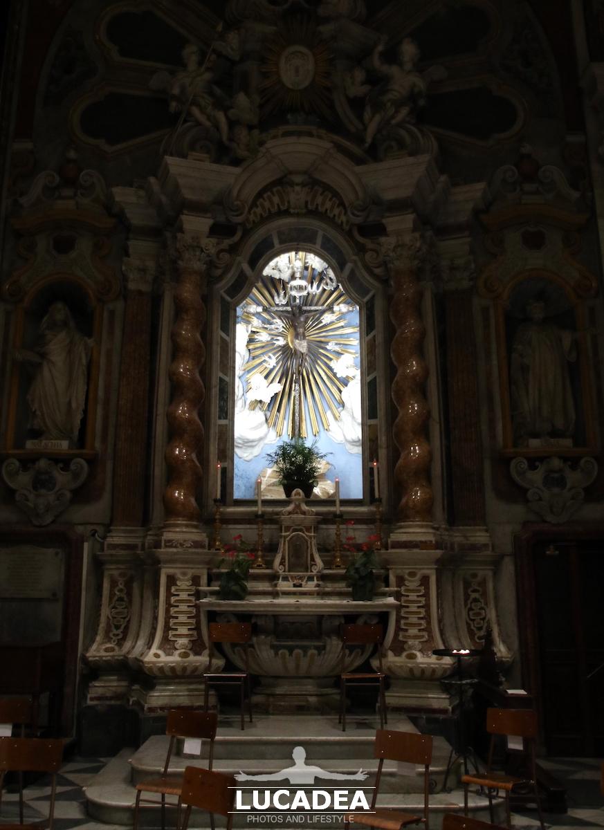 Interno san Giovanni a chiavari 2
