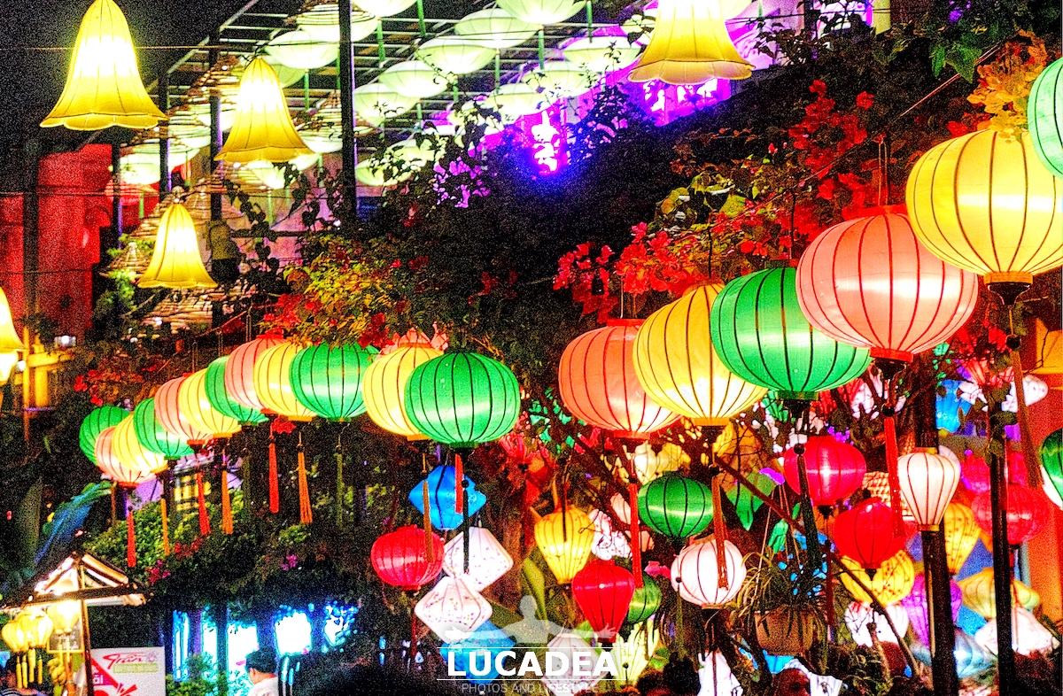 Le lanterne colorate di Hoi An in Vietnam
