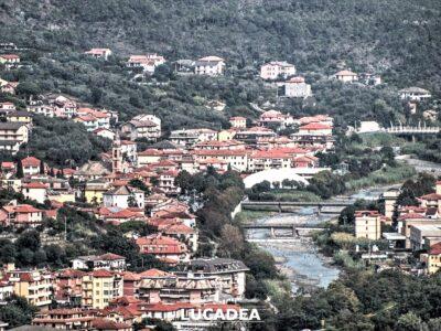 Casarza Ligure vista da Villa Ginestra