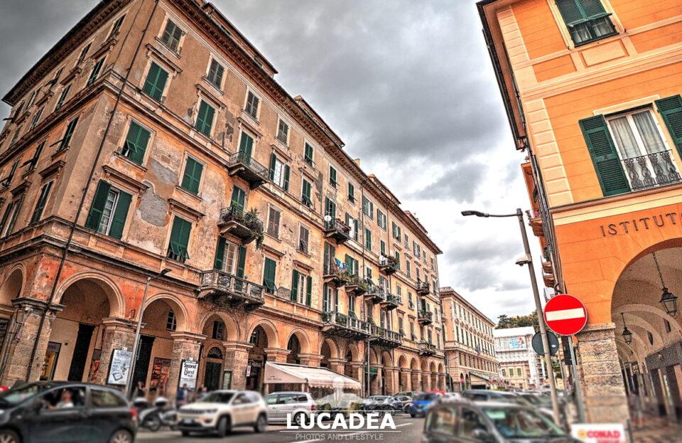 Corso Garibaldi a Chiavari