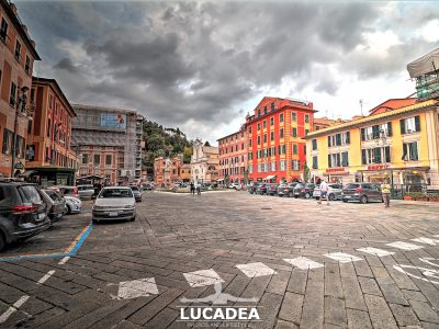 Piazza Matteotti a Chiavari