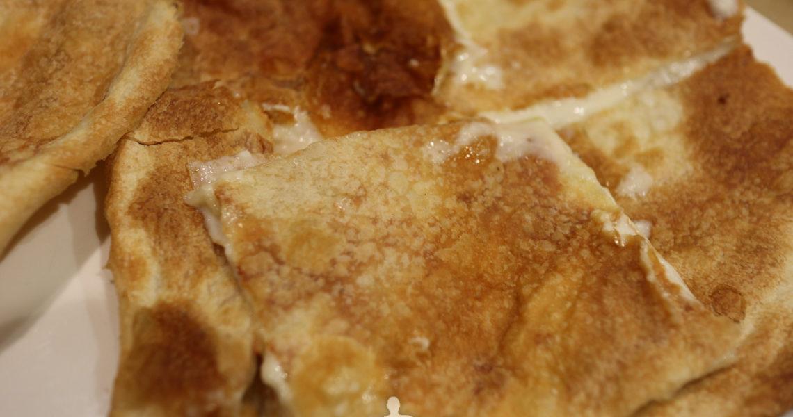 La focaccia al formaggio a Recco