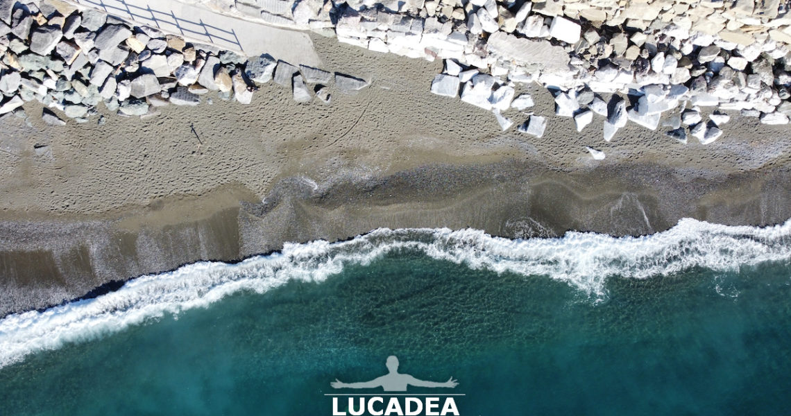 La spiaggia di Renà a Riva Trigoso
