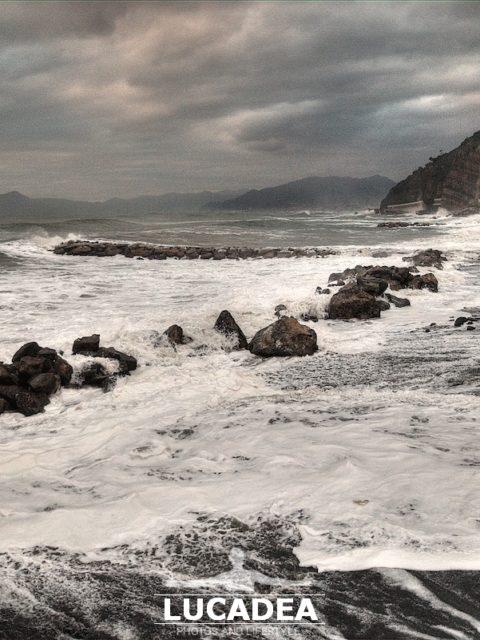 Mareggiata a Sant'Anna il 28 dicembre 2020