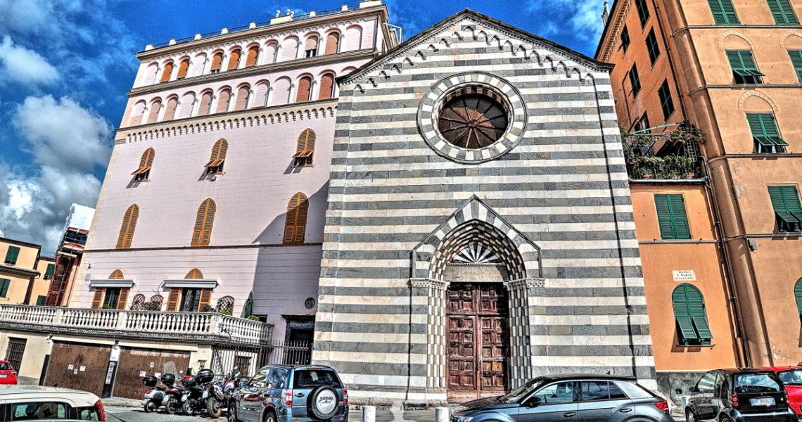 Piazza Santa Maria in via Lata a Genova
