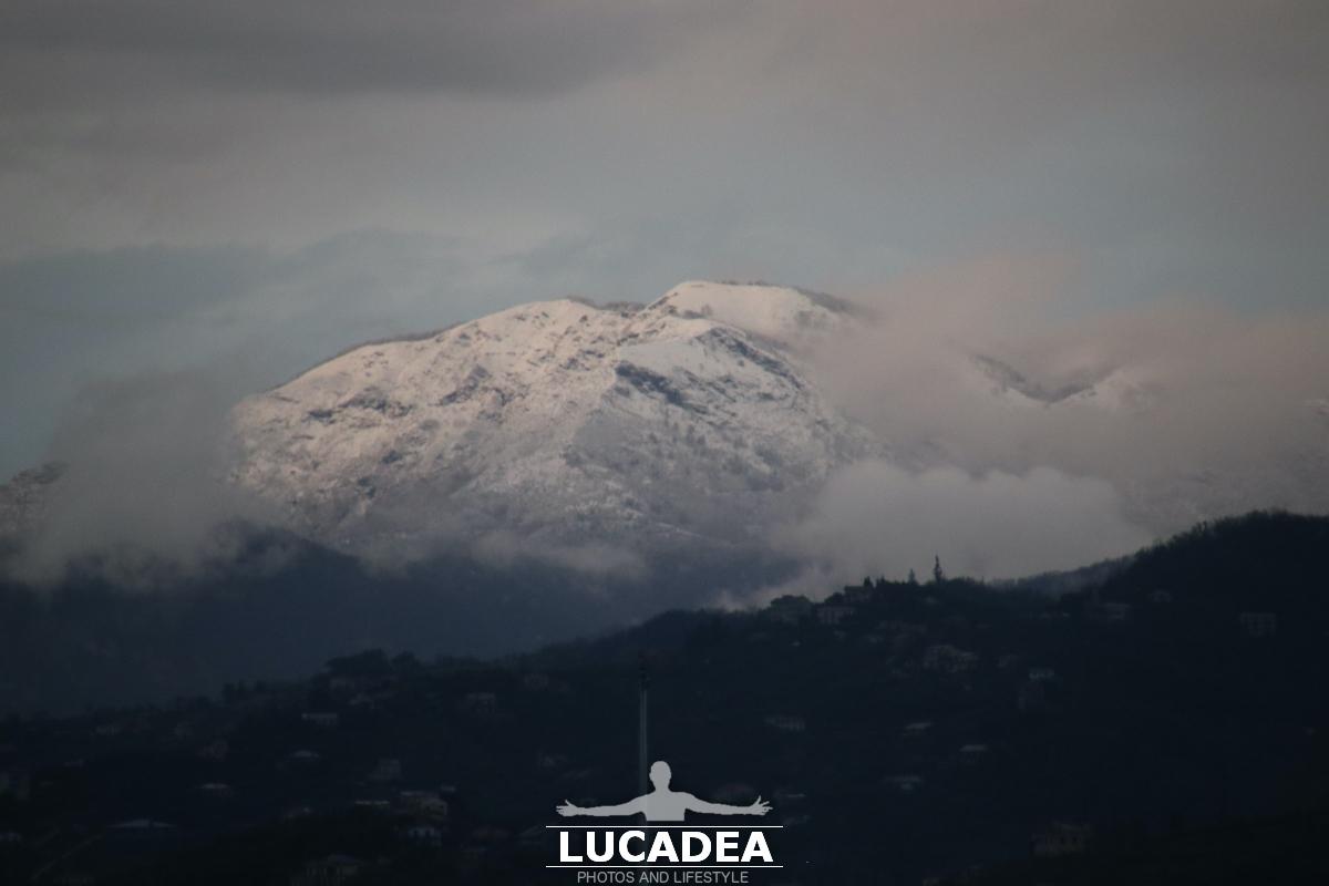 Monte Ramaceto con la neve