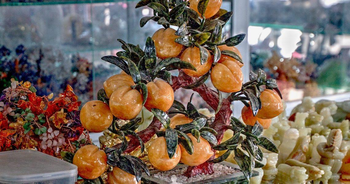 Pesco bonsai in marmo in Vietnam