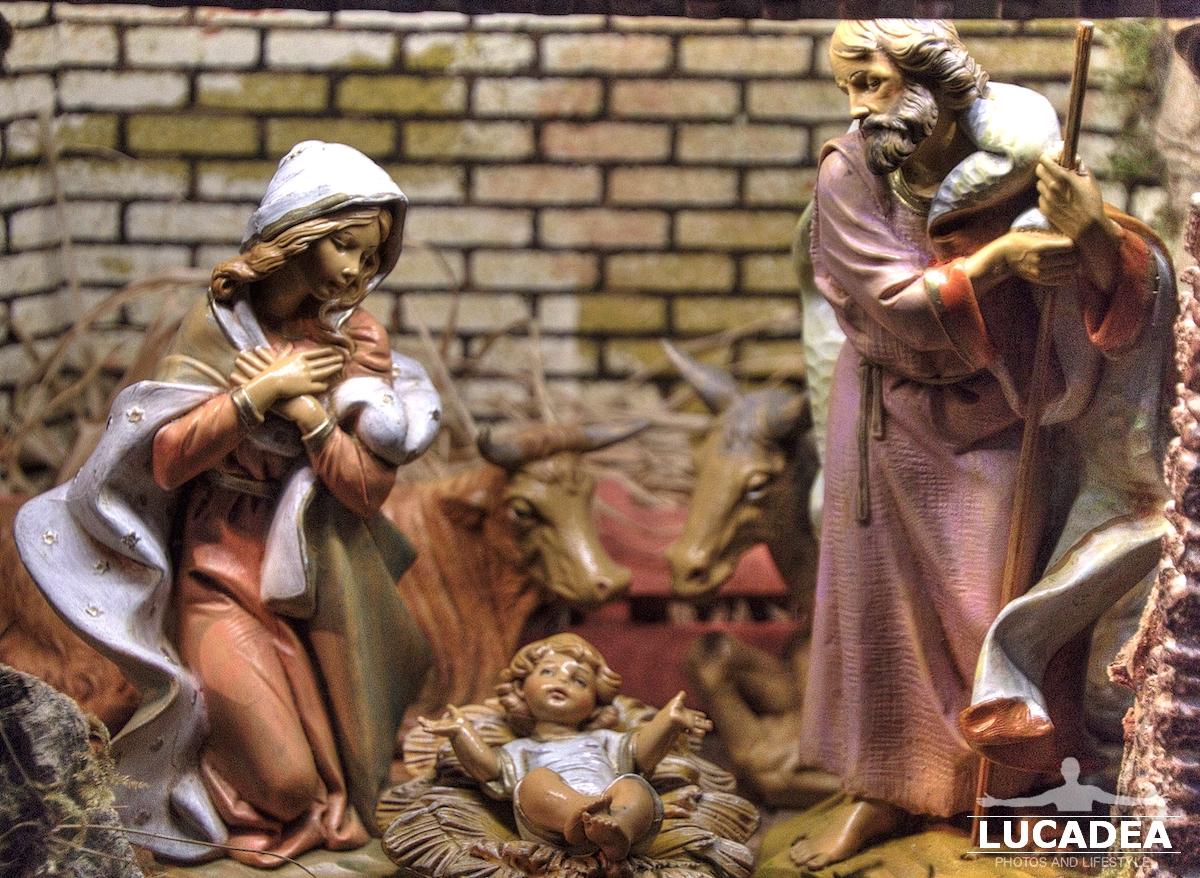 Il presepe della chiesa di Sant'Antonio a Sestri Levante