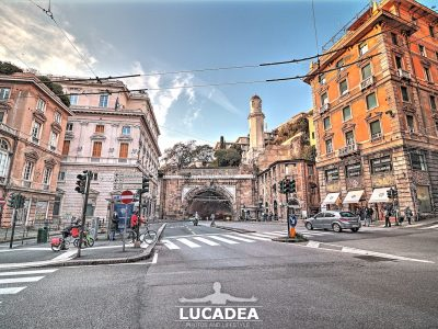 La Galleria Giuseppe Garibaldi a Genova