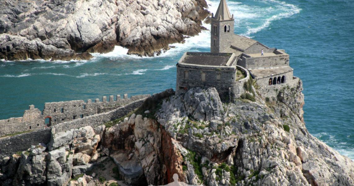 A picco sul mare a Portovenere