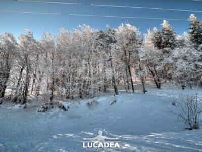 La neve al Passo di Centocroci lo scorso gennaio