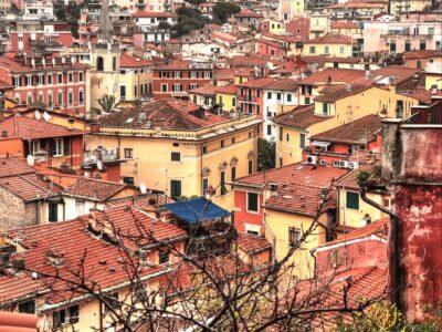 La vista sui tetti di Lerici