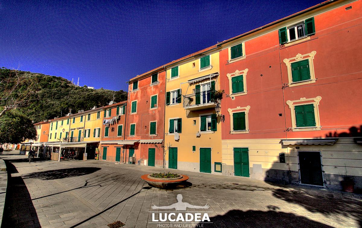 La passeggiata in via Brin a Riva Trigoso