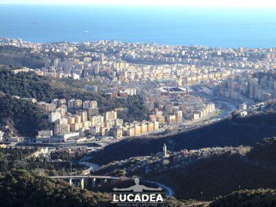 Genova vista da forte Sperone