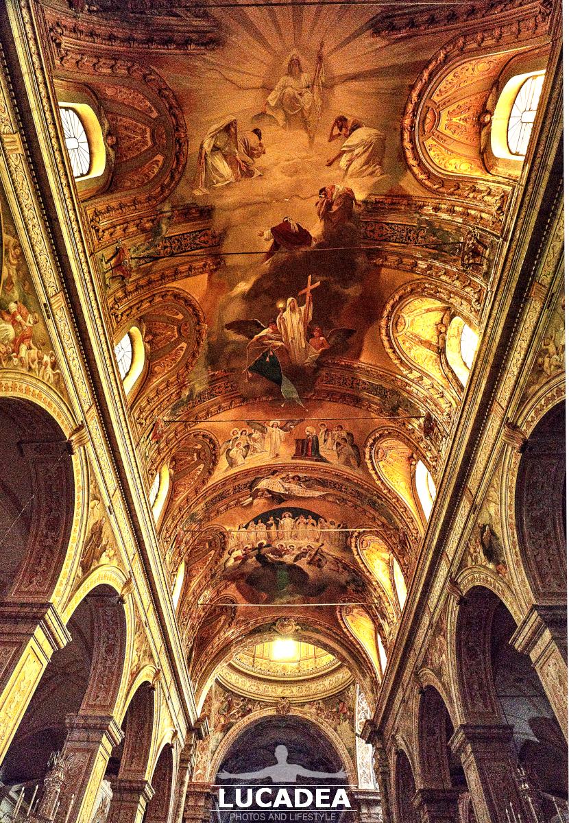 Affreschi volta della Cattedrale di Acireale