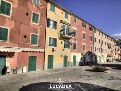 Le case colorate della Liguria