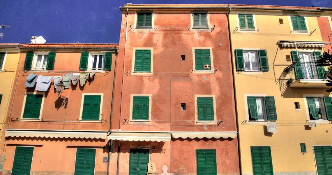 Case in via Brin a Riva Trigoso