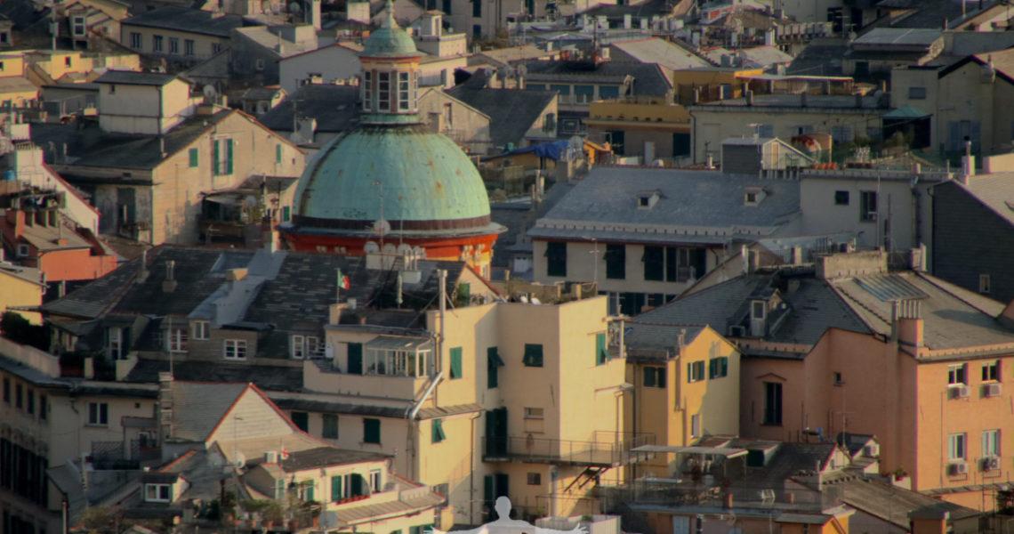 La cupola della Basilica di San Siro a Genova