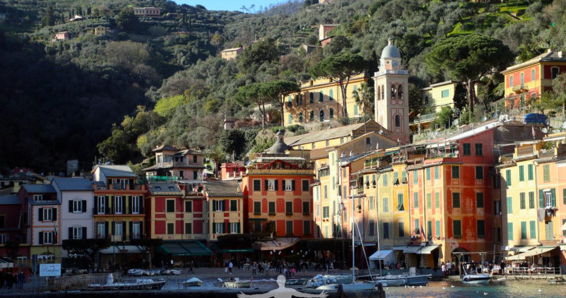 Il porticciolo di Portofino il 14 marzo 2021