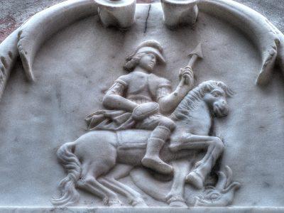 Bassorilievo di San Giorgio a Tellaro