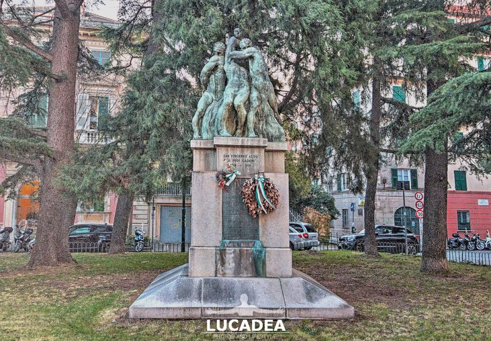 Monumento ai Caduti di piazza Villa a Genova