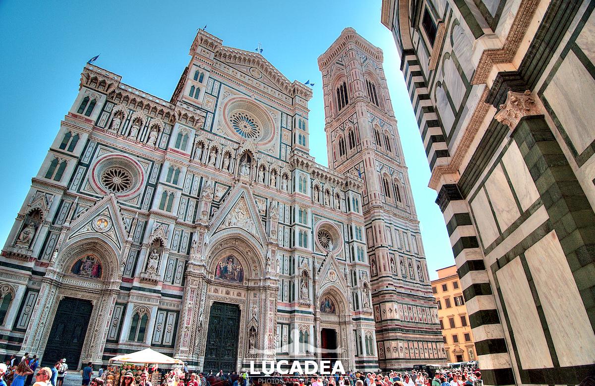 Il Duomo di Firenze e il Battistero