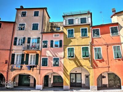 Il centro del Borgorotondo di Varese Ligure
