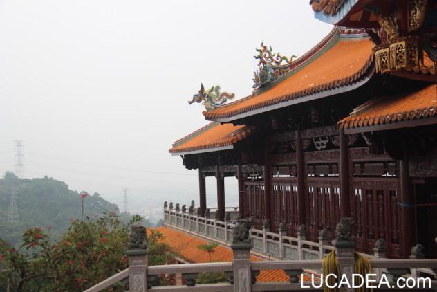 tempio montano in taiwan
