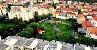 Il parco Sterza a Sestri Levante