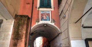 Galleria di via Jacopo Rocca a Chiavari