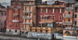 Le case in Baia a Sestri Levante